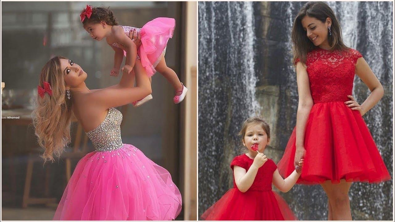 بالصور ام وبنتها بنفس اللبس , اجمل ملابس بين الام و بنتها 11651 3