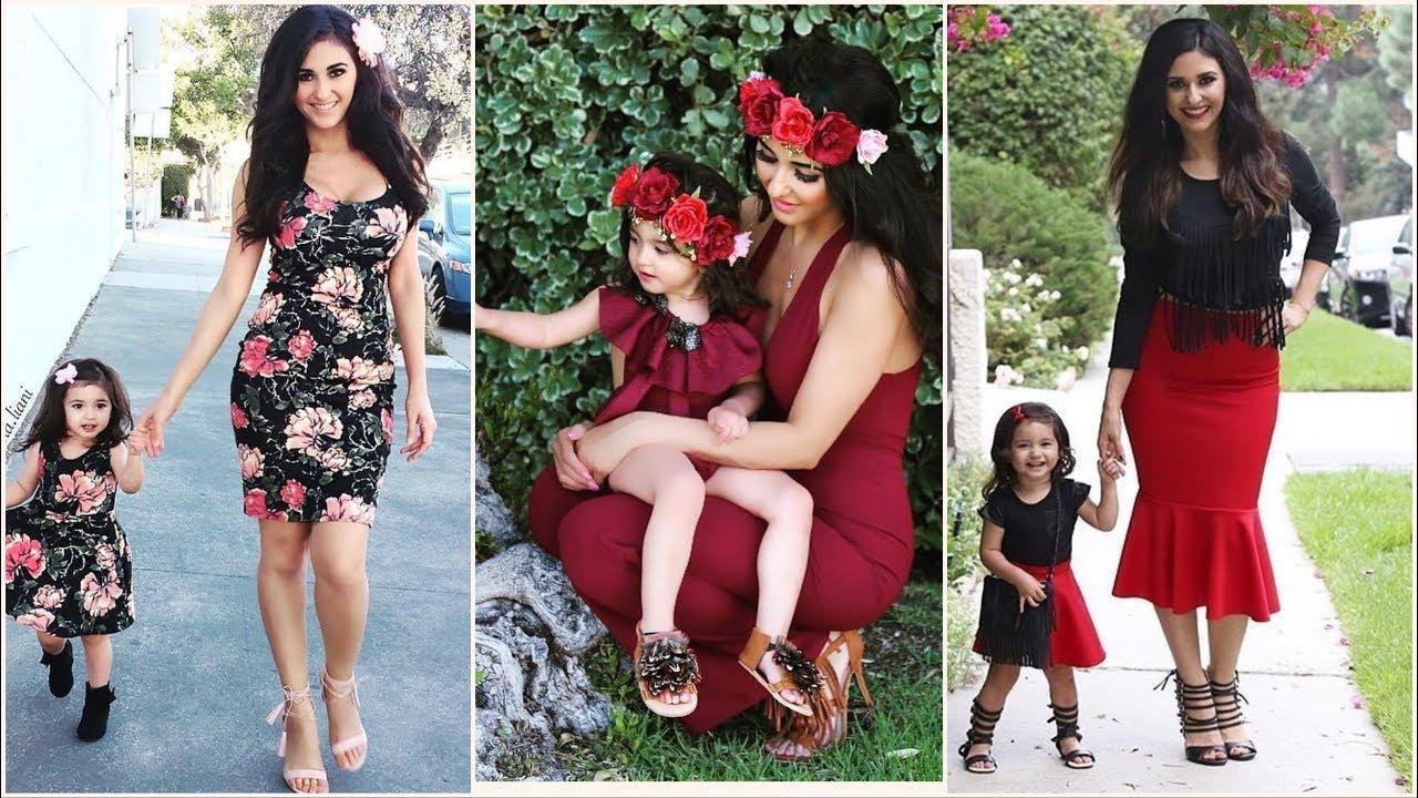بالصور ام وبنتها بنفس اللبس , اجمل ملابس بين الام و بنتها 11651 6