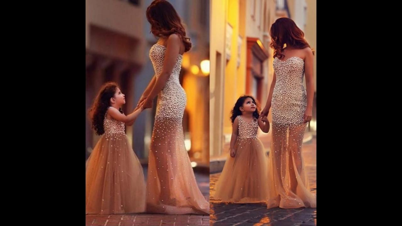 بالصور ام وبنتها بنفس اللبس , اجمل ملابس بين الام و بنتها 11651 7