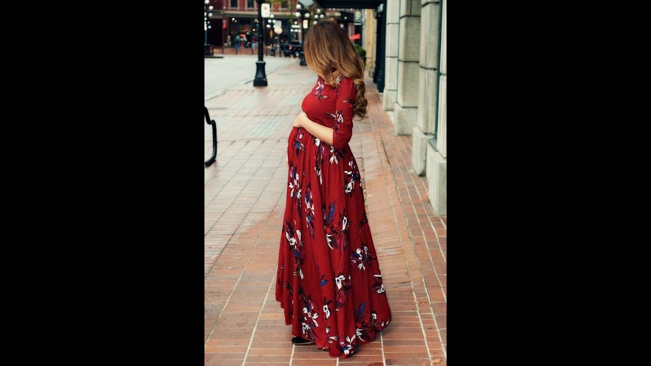 بالصور ملابس العيد للحوامل , حامل تعالى شوفي احلى لبس للعيد 11956 9