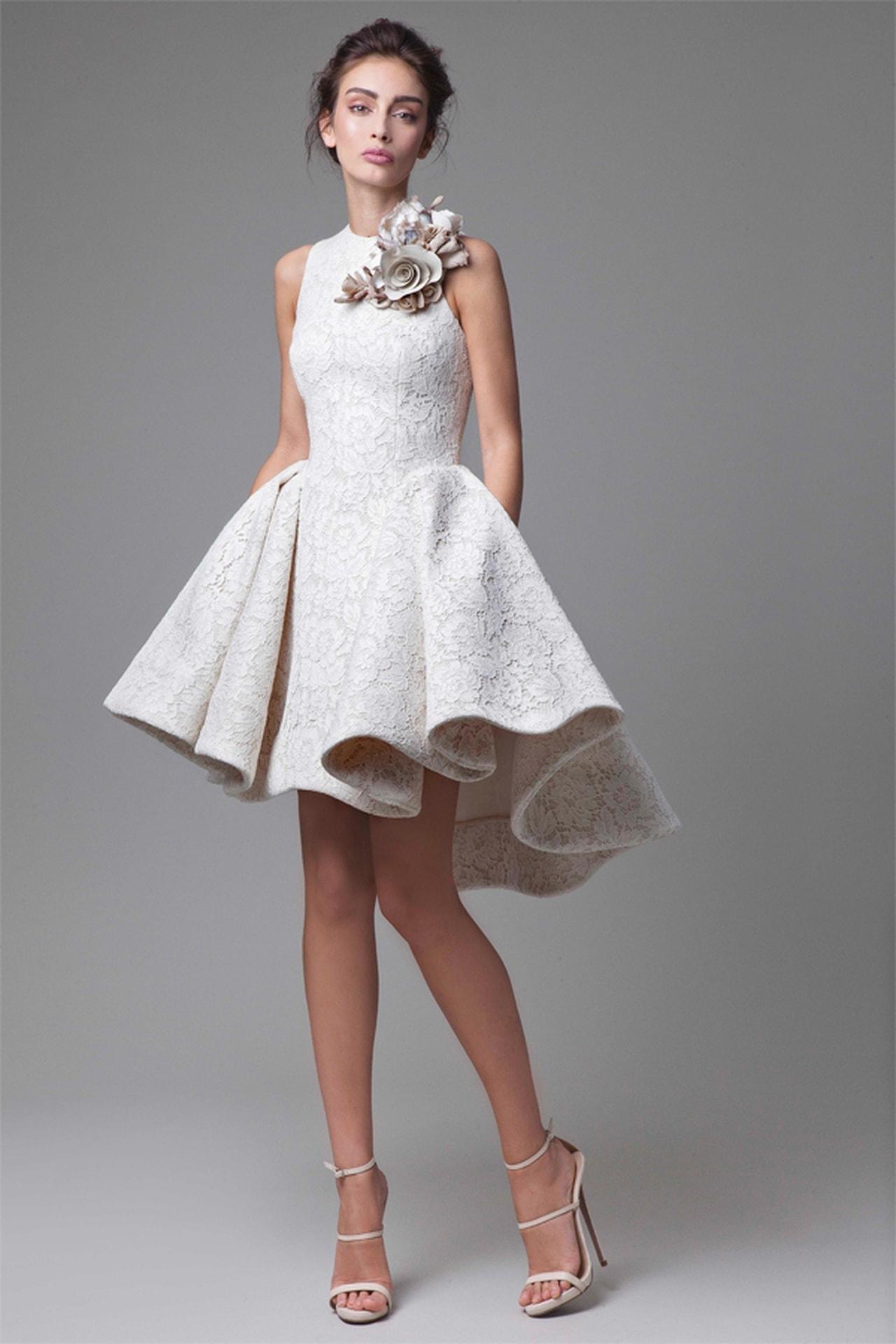 اجمل فساتين سهرة قصيرة موديلات جديدة لفساتين السواريه القصيرة