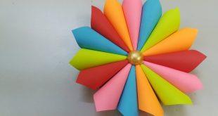 بالصور اشكال بالورق الملون , افكار فنية مدهشة بالورق الملون 12483 14 310x165