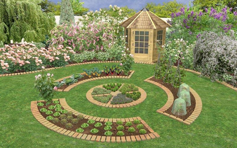 بالصور تصميمات حدائق منزلية , افكار جديدة لحدائق منزلية 12489 15
