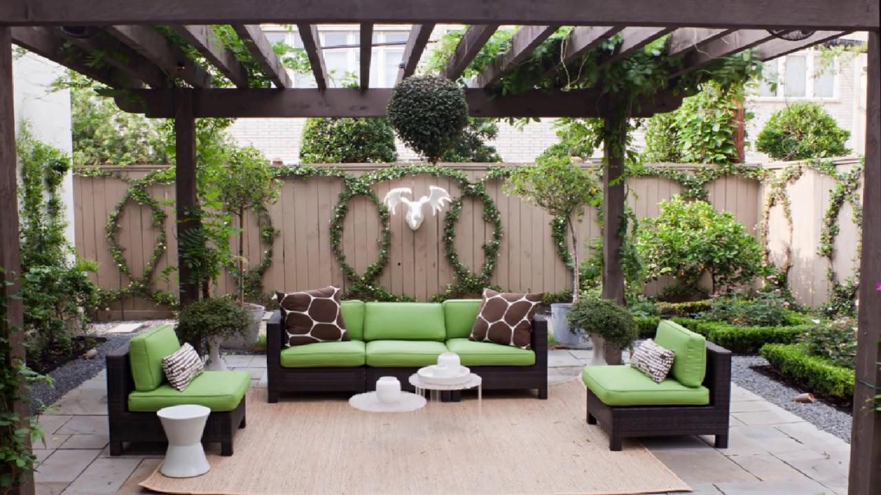 بالصور تصميمات حدائق منزلية , افكار جديدة لحدائق منزلية 12489 2