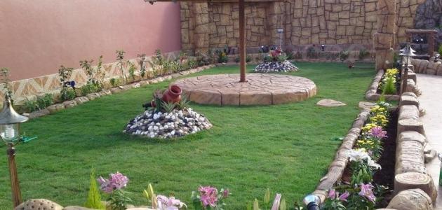 بالصور تصميمات حدائق منزلية , افكار جديدة لحدائق منزلية 12489 7