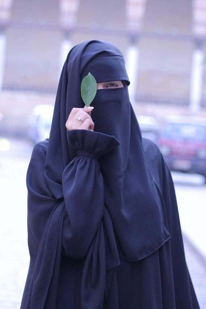صورة صور منقبات , رمزيات لبنات جميلة بالنقاب