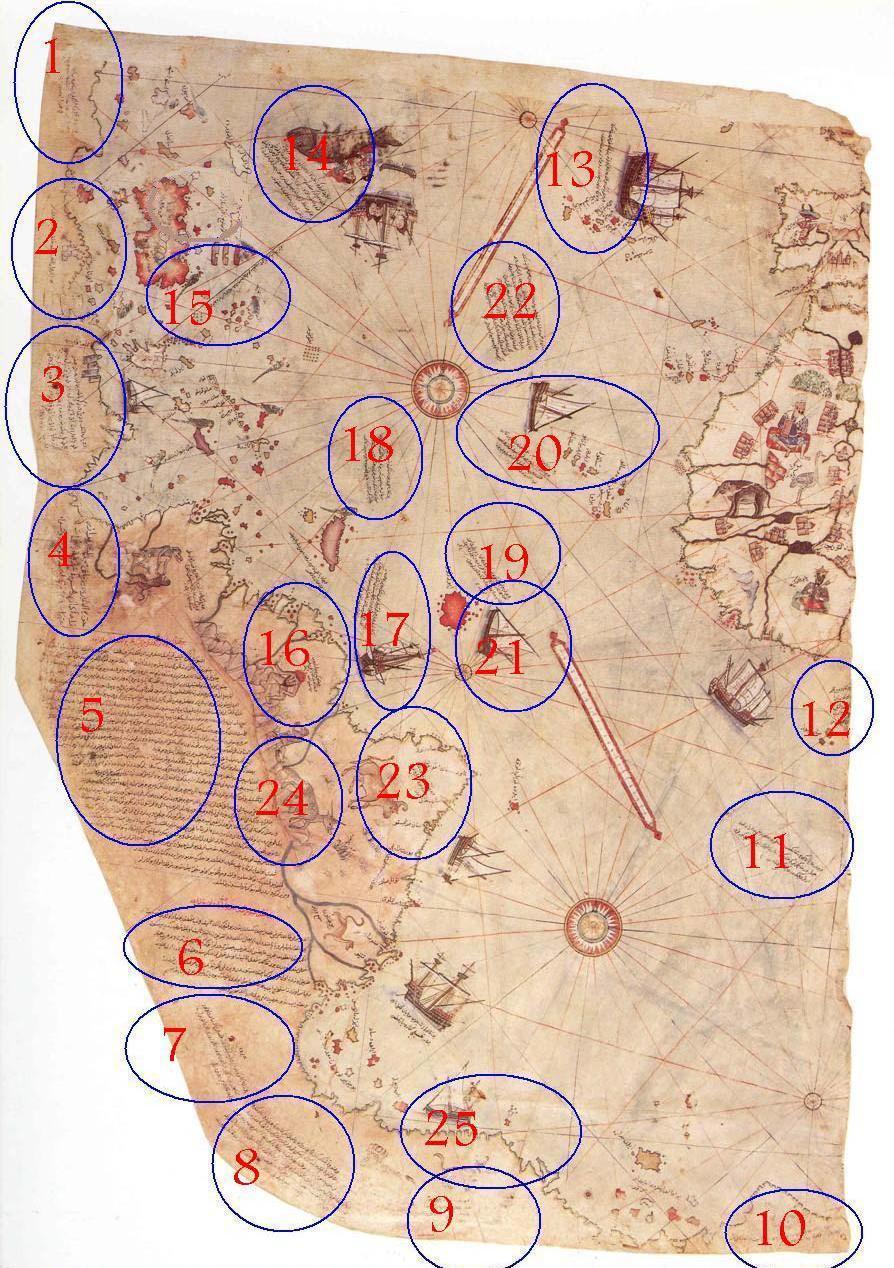بالصور خريطة بيري ريس , تعرف على تاريج هذه الخريطة 11522 1