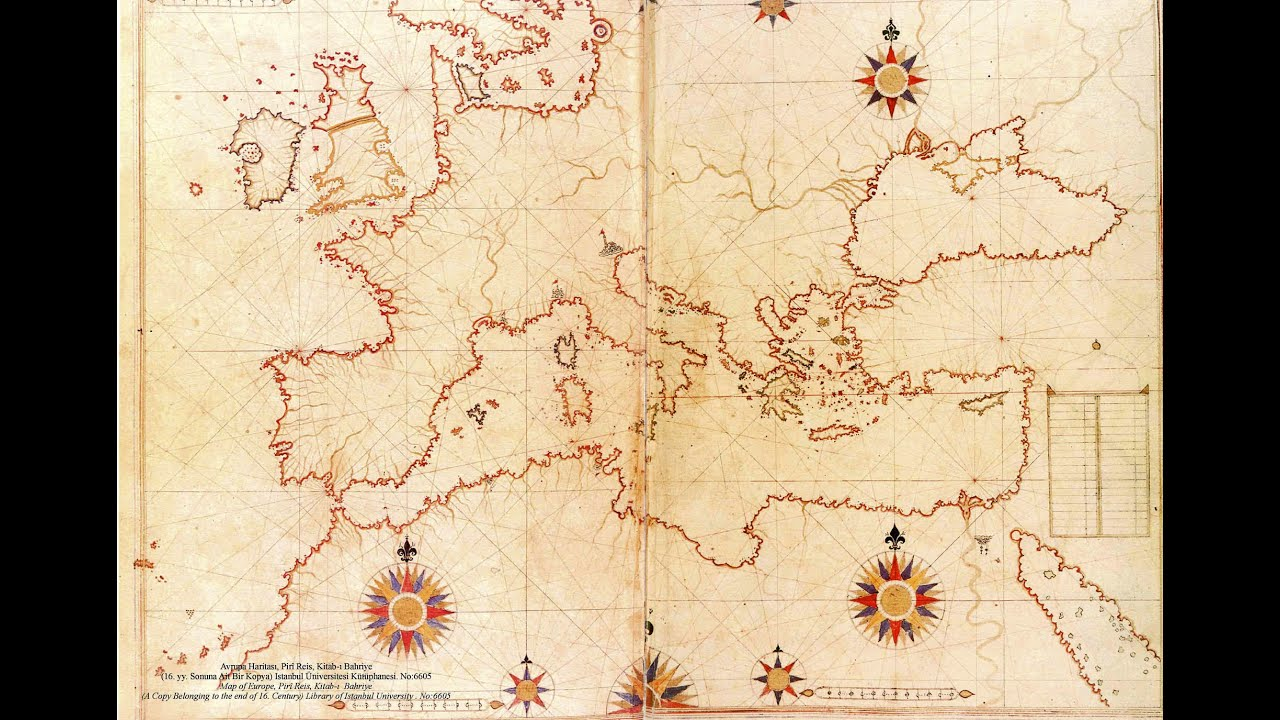 بالصور خريطة بيري ريس , تعرف على تاريج هذه الخريطة 11522 11