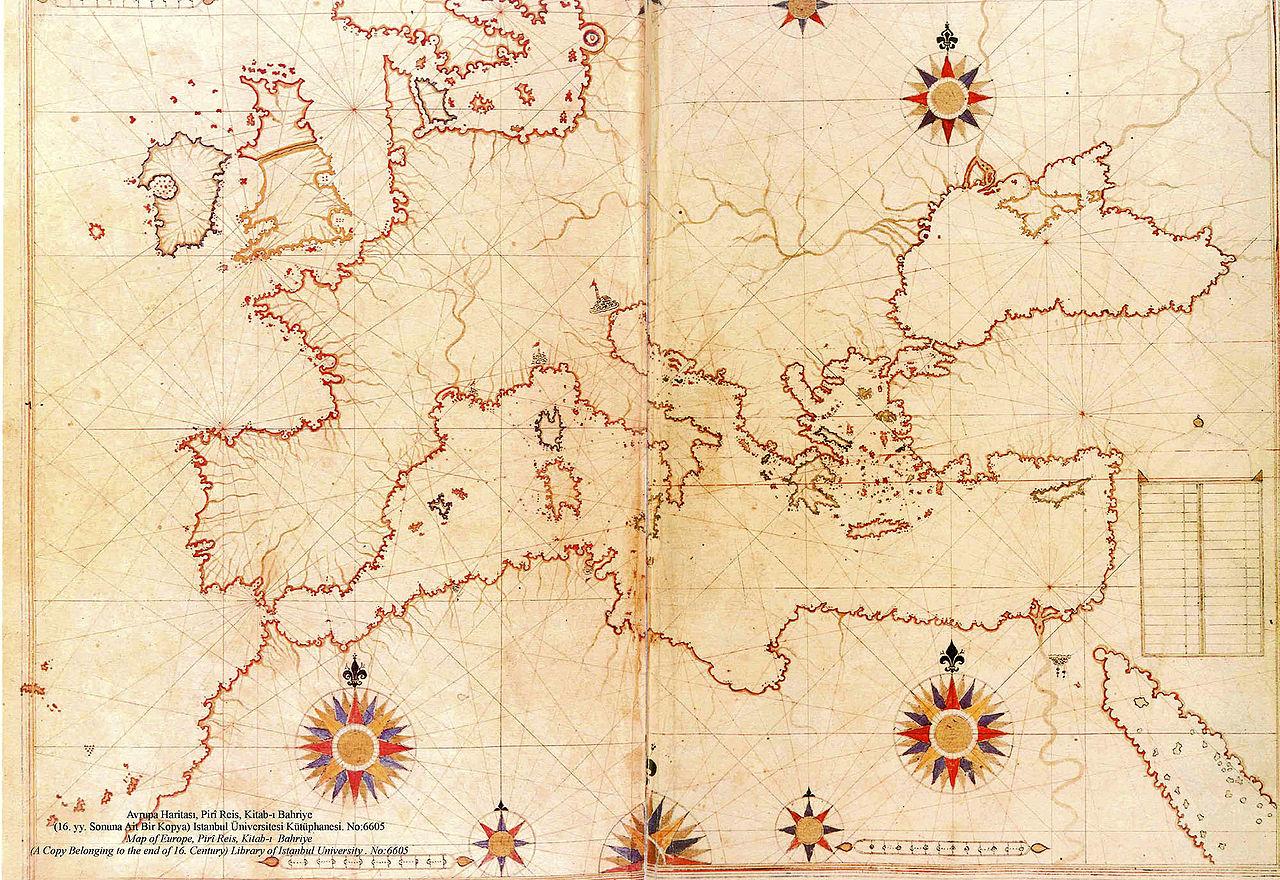 بالصور خريطة بيري ريس , تعرف على تاريج هذه الخريطة 11522 5