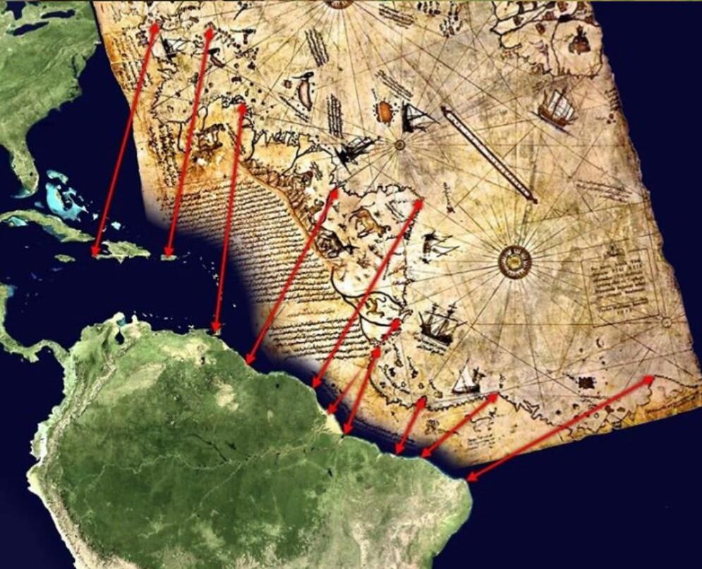 بالصور خريطة بيري ريس , تعرف على تاريج هذه الخريطة 11522 8
