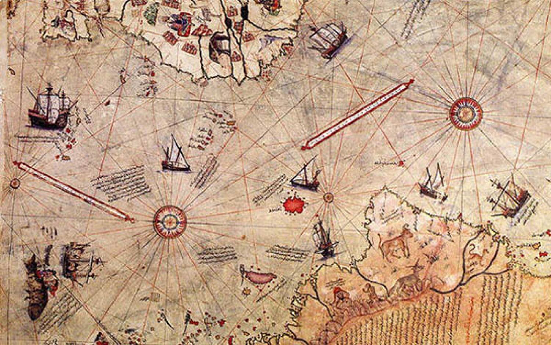 بالصور خريطة بيري ريس , تعرف على تاريج هذه الخريطة 11522 9