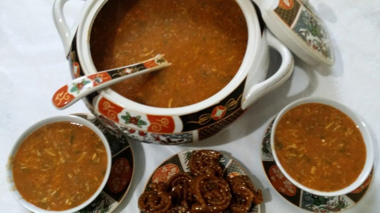 صورة طريقة عمل الحريرة المغربية , اجمل واحلى وجبه في المغرب كله
