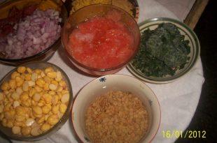 صور طريقة عمل الحريرة المغربية , اجمل واحلى وجبه في المغرب كله