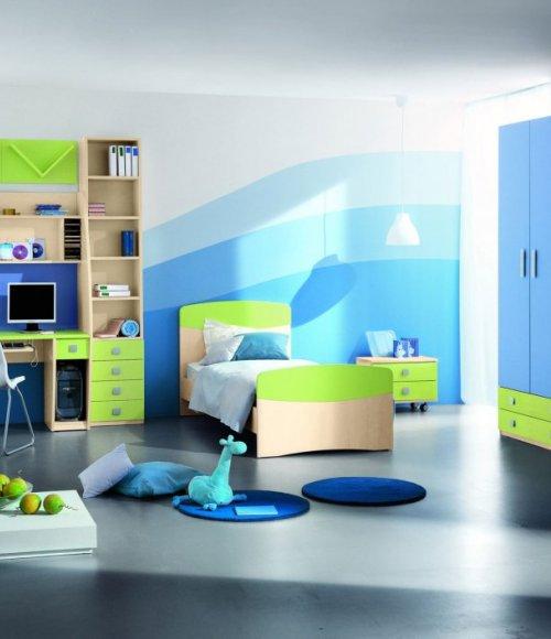 بالصور غرف نوم اطفال اولاد , ديزين مبتكر لغرف نوم الاولاد 2746 10