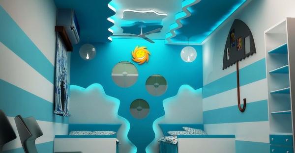 بالصور غرف نوم اطفال اولاد , ديزين مبتكر لغرف نوم الاولاد 2746 13