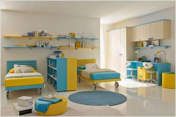 بالصور غرف نوم اطفال اولاد , ديزين مبتكر لغرف نوم الاولاد 2746 8