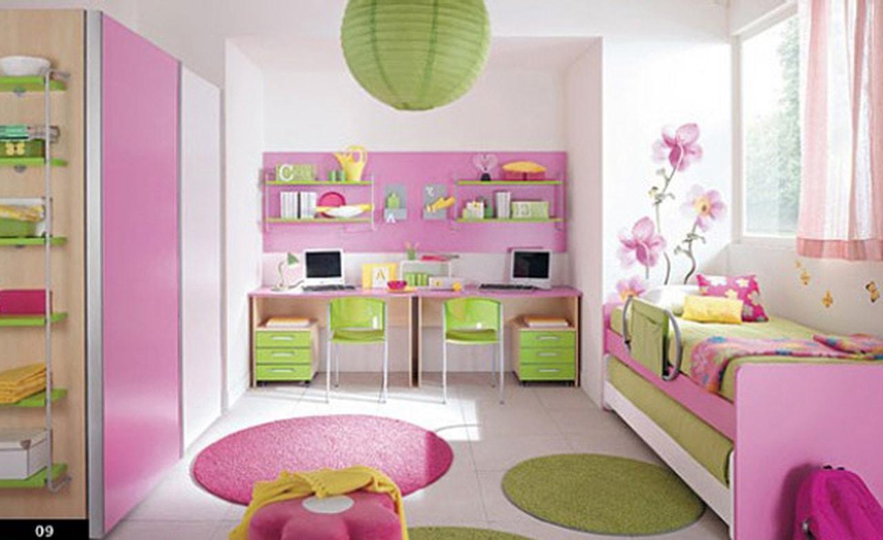 صورة غرف نوم اطفال بنات , ديكور غرفه نوم لبنوته