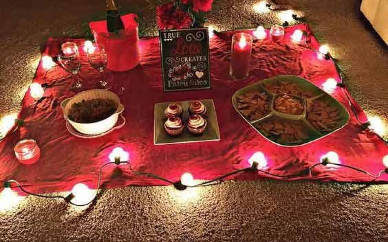 صور عشاء رومانسي في البيت , افكار روعه لعشاء رومانسى منزلى