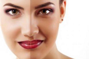 صورة تبييض الوجه , ماسكات تفتيح البشره