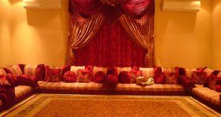صورة جلسات عربية , كنبات غرف الجلوس العربى