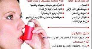 صور مرض الربو , معلومات عن مرض الربو