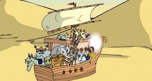 صورة سفينة نوح عليه السلام , معلومات عن سفينه سيدنا نوح عليه السلام