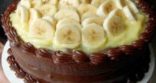 صور طريقة تزيين كيكة الشوكولاته , شرح تزيين الكيكه بالشيكولاته