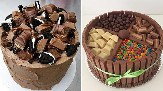صورة طريقة تزيين كيكة الشوكولاته , شرح تزيين الكيكه بالشيكولاته 3456 2