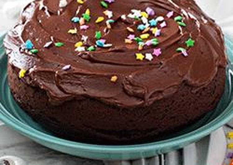 صورة طريقة تزيين كيكة الشوكولاته , شرح تزيين الكيكه بالشيكولاته 3456 7