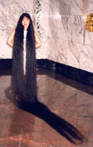 صورة اطول شعر في العالم , اطول شعر فى الكون